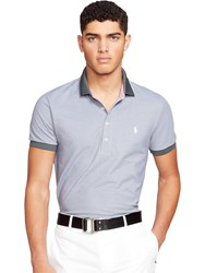 Polo Golf By Ralph Lauren 3 Button Polo Shirt Charcoal Grey