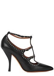Givenchy Black Studded Leather Pumps