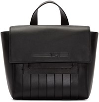 Mcq By Alexander Mcqueen Black Leather Mini Satchel