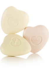 Bamford Rose Geranium And Jasmine Pebble Soap Set 3 X 75G