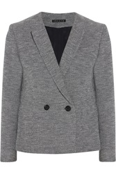 Theory Tamala Cotton Boucle Blazer Blue
