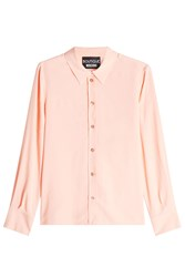Boutique Moschino Blouse With Silk Rose
