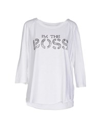 Bowery Topwear T Shirts Women White