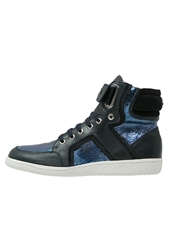 Michalsky Urban Nomad I Classic Hightop Trainers Dark Navy Dark Blue