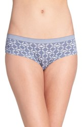 Chelsea 28 Women's Chelsea28 Hipster Briefs Grey Grisaille Bees Print