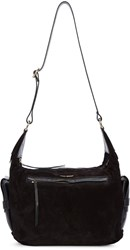 Isabel Marant Black Suede Corte Bag
