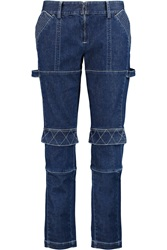 Opening Ceremony Finn Low Rise Straight Leg Jeans Blue