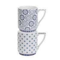 Ted Baker Stacking Mug Set Of 2 Balfour V And Vi