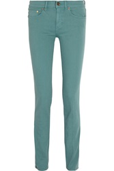Tory Burch Ivy Low Rise Skinny Jeans