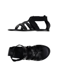 Calvin Klein Collection Sandals Black