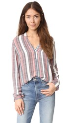 Just Female Stripe Shirt