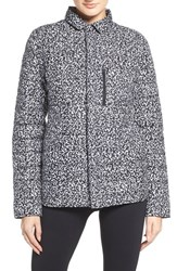 The North Face Women's 'Whoisthis' Jacket Tnf Black Whiteout Print