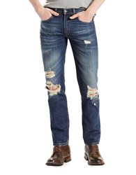 Levi's 511 Slim Fit Distressed Jeans Wheater