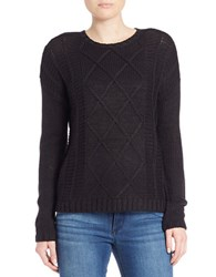 Buffalo David Bitton Textured Knit Pullover Black
