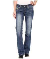 Rock And Roll Cowgirl Low Rise Bootcut In Medium Vintage W0 5611 Medium Vintage Women's Jeans Blue