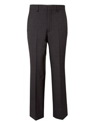 Chester Barrie Tapered Fit Tailored Trousers Charcoal