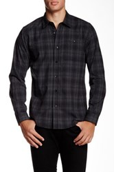 Ezekiel Biloxi Long Sleeve Woven Shirt Gray