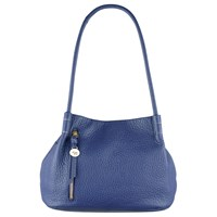 Radley Seymour Medium Leather Shoulder Bag Blue