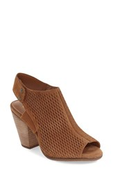 Women's Arturo Chiang 'Janel' Perforated Slingback Sandal 3 1 4' Heel