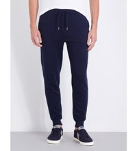 Polo Ralph Lauren Mid Rise Cotton Jersey Jogging Bottoms Cruise Navy