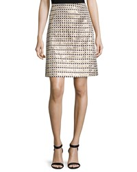 Erin Fetherston Nina Metallic Polka Dot Skirt Metallic Multi