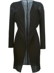 Pleats Please By Issey Miyake Pleated Jacket Black
