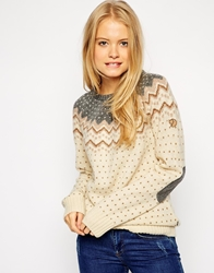 Fjall Raven Fjallraven Fairisle Jumper Cream