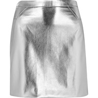 River Island Womens Silver Mini Skirt