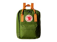 Fjall Raven K Nken Mini Leaf Green Burnt Orange Backpack Bags Olive