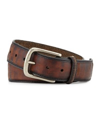 Bill Lavin Vintage Leather Belt Brown