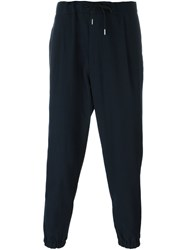 Mcq By Alexander Mcqueen 'Ash' Track Pants Blue