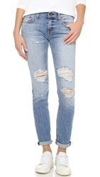 Rag And Bone Slim Fit Boyfriend Jeans Carter