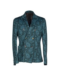 Brian Dales Suits And Jackets Blazers Men Turquoise