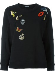 Alexander Mcqueen 'Obession' Charms Sweatshirt Black