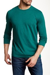 J.Crew Factory Long Sleeve Heathered Jersey Tee Multi