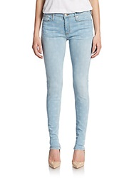 Hudson Polka Dot Skinny Denim Vanished