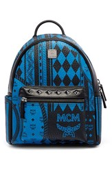 Mcm 'Small Stark Baroque' Coated Canvas Backpack
