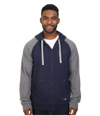 The North Face Trivert Pullover Hoodie Cosmic Blue Heather Tnf Medium Grey Heather Men's Sweatshirt