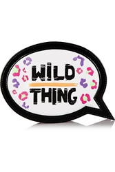 Sophia Webster Wild Thing Embroidered Leather Clutch