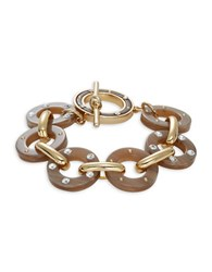 Kate Spade Out Of Her Shell Tortoise Shell Toggle Bracelet Brown