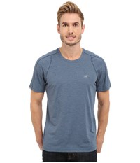 Arc'teryx Cormac Crew Short Sleeve Legion Blue Men's Clothing Navy