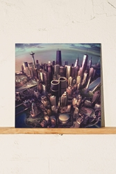 Urban Outfitters Foo Fighters Sonic Highway Lp Black