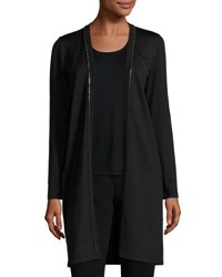 Rani Arabella Beaded Cashmere Cardigan Black