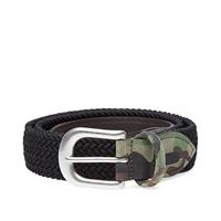Andersons Anderson's Woven Textile Belt Black And Camo