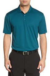 Cutter And Buck Men's Big Tall 'Genre' Drytec Moisture Wicking Polo Midnight Green