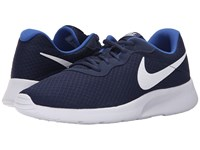 Nike Tanjun Midnight Navy Game Royal White Men's Running Shoes Blue
