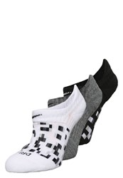 Nike Performance 3 Pack Sports Socks Black Charcoal White