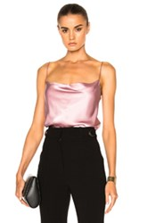 Protagonist Draped Cami Top In Pink