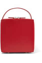 Junya Watanabe Leather Tote Red