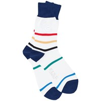 Thomas Pink Ellicott Socks White Multi